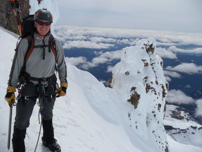 Rock Climbing Photo: Mt Hood