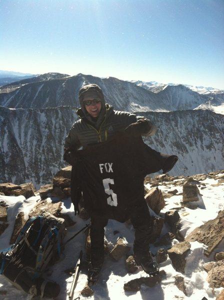 Rock Climbing Photo: Quandary Peak,CO
