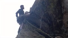 Rock Climbing Photo: Crux of ignominy