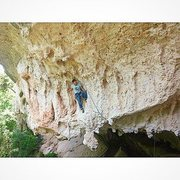 Rock Climbing Photo: Liposuction 5.12a