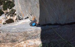 Rock Climbing Photo: Why would you lieback this beautiful crack?