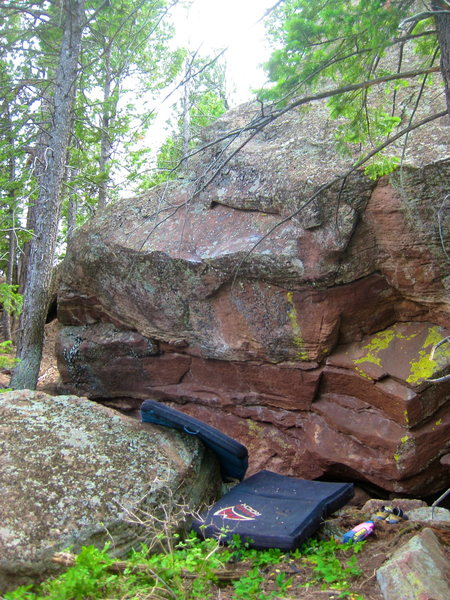 Rock Climbing Photo: Saskatchewanderer (V6).