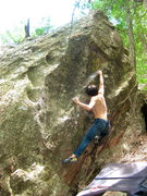 Rock Climbing Photo: Cruxin'.