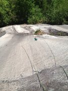 Rock Climbing Photo: Laura H P.1 Dark Horse