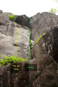 Rock Climbing Photo: 697 Pas de Face Le Recoin