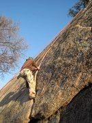 Rock Climbing Photo: TR on Sweat