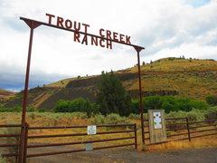 Rock Climbing Photo: Trout Creek Ranch