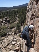 Rock Climbing Photo: Rob Allas on Golden Poodle