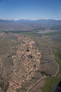 Rock Climbing Photo: Aerial view of Hartman's.  Photo by Greg Smith, We...