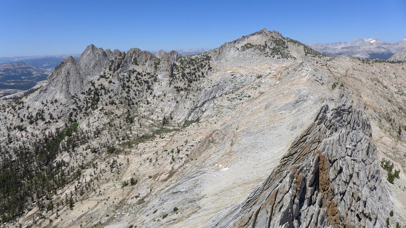 Rock Climbing Photo: Echo Peaks/Ridge from Matthes