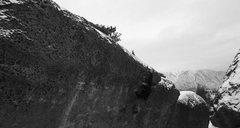 Rock Climbing Photo: B/W