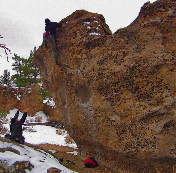 Rock Climbing Photo: Catacombs