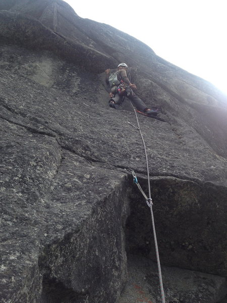 Rock Climbing Photo: Pitch 2 start.  (Geoff G)