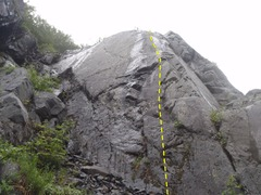 Rock Climbing Photo: Follow the bults up onto the whales back.