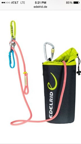Edelrid sewn loop in rope
