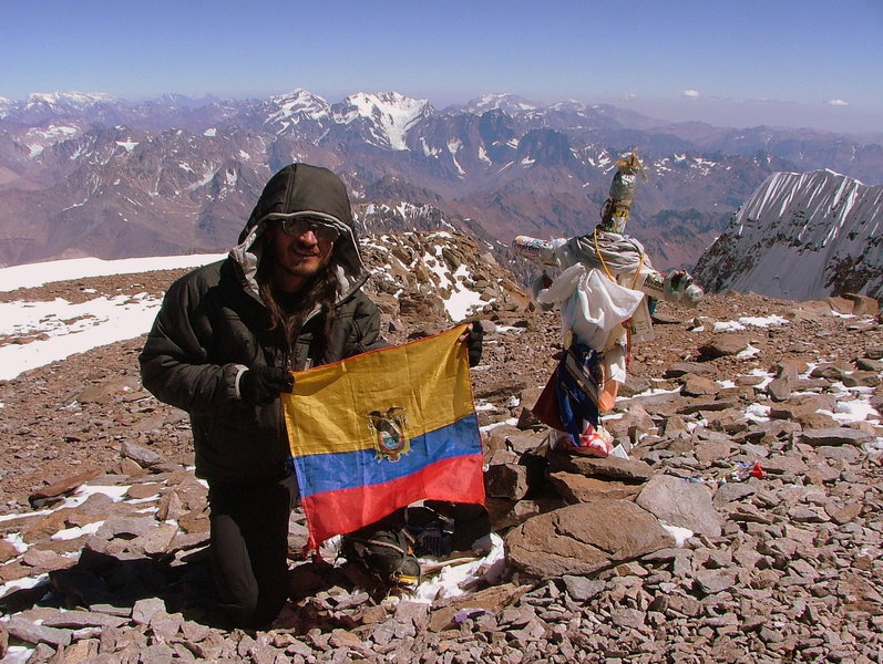 Rock Climbing Photo: Aconcagua
