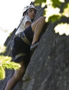 """Rock Climbing Photo: """"November Gaze"""" 5.9"""