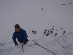 Rock Climbing Photo: Pat crushes his first ever ice climb!