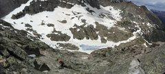 Rock Climbing Photo: Spearhead descent.