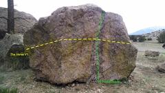 Rock Climbing Photo: Nathrop Cube.