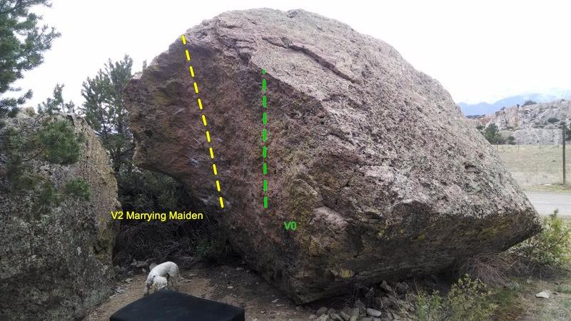 Rock Climbing Photo: Maiden Block.