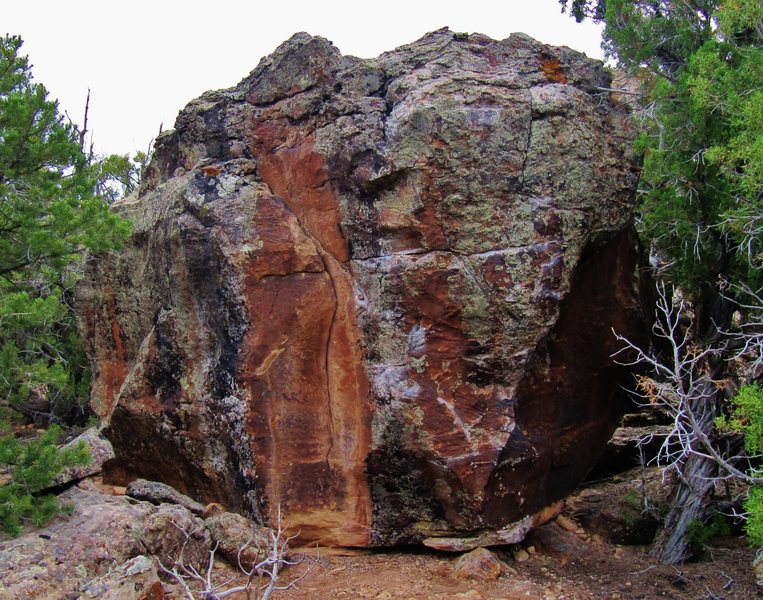 Diagon Boulder's southwest face.