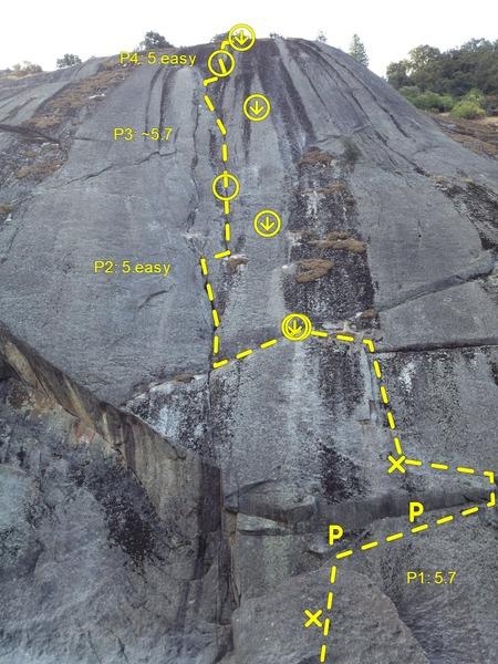 Rock Climbing Photo: Gutenberger Wall Direct