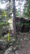 Rock Climbing Photo: Alternate more direct, directions: once at the Gir...