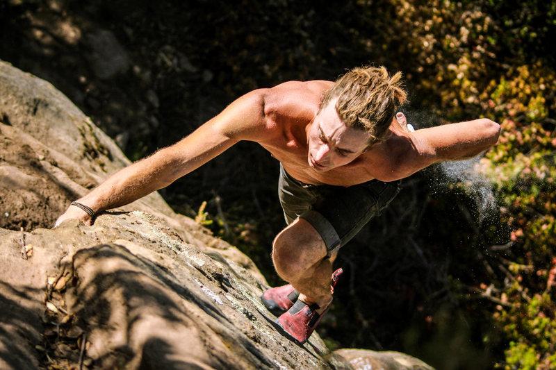 Rock Climbing Photo: Cordless on 'Fern Dust'.