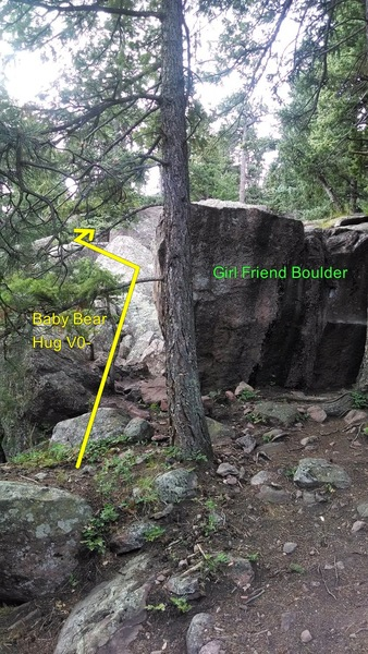 Rock Climbing Photo: Alternate, more direct, directions: once at the Gi...