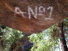 Rock Climbing Photo: A-No.1, Leon Ray Livingston, King of the Hobos.