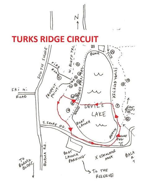 MAP OF CIRCUIT
