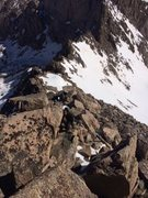 Rock Climbing Photo: Sawtooth ridge out and back