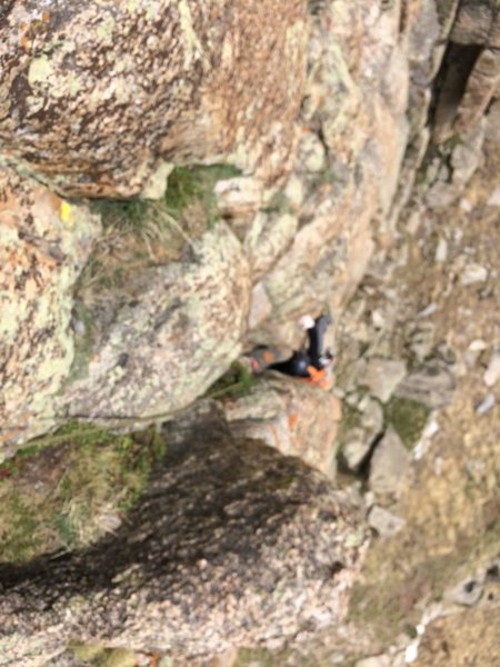 Rock Climbing Photo: Black and tan towers, mt evans