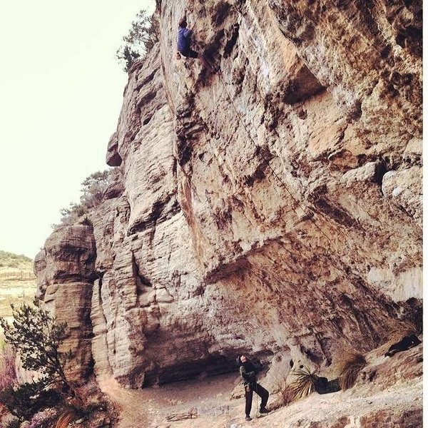 Rock Climbing Photo: Nick Duttle sending this earlier this year, i beli...