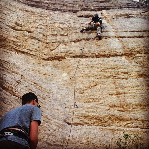 Rock Climbing Photo: Eds Route...