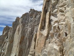 Rock Climbing Photo: lost on the Fresh Air Traverse. Super easy when yo...