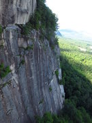 Rock Climbing Photo: Cool view of Thin Air Face