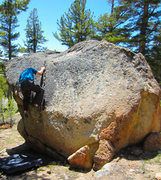 Rock Climbing Photo: Munge Grrrrr!