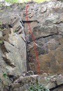 Rock Climbing Photo: Belgian Blonde