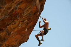 Rock Climbing Photo: Should have used better foot beta!