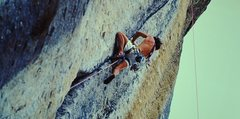 Rock Climbing Photo: Tales of Power (5.12) on-sight ascent (1989)
