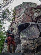 Rock Climbing Photo: finished