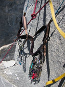 Rock Climbing Photo: Ready for the second to grab gear from.