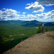 Rock Climbing Photo: Summit of Potter Mt. after topping out Where the W...