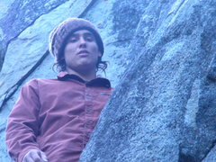 Rock Climbing Photo: this is me