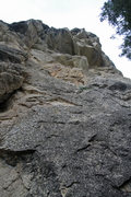 Rock Climbing Photo: Sully's from below. Steeper than it looks, especia...