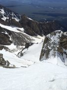 Rock Climbing Photo: Taken from the south summit looking down on dike c...