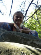 Rock Climbing Photo: Made it!
