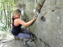 Rock Climbing Photo: Lost Keys Traverse...on my to do list...